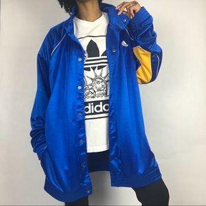 Adidas Clima365 Silky Snap Button Track Jacket